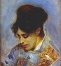 renoir portrait of madame monet