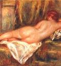 renoir reclining nude c1909