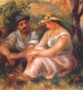 renoir seated couple