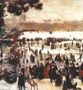 renoir skaters in the bois de boulogne