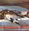 renoir still life with pheasant and partridge c1880