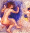 renoir study for scene from tannhauser third act c1879
