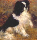 renoir tama the japanese dog c1876