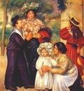 renoir the artists family portraits