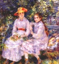 renoir the daughters of paul durand ruel marie therese and jeanne