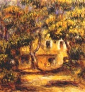 renoir the farm at les collettes c1915