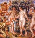 renoir the judgment of paris 1913