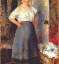 renoir the laundress c1880