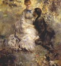 renoir the lovers c1875