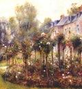 renoir the rose garden at wargemont