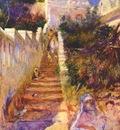renoir the stairway, algiers c1882