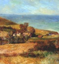 renoir view of the normandy coast near wargemont