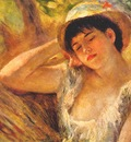 renoir woman dozing