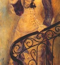 renoir woman on a stair c1876