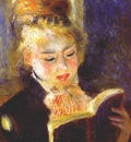 renoir woman reading c1874