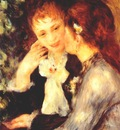 renoir young women talking confidences