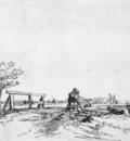 Rijn van Rembrandt Bridge Sun