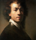 rijn van rembrandt self portrait sun