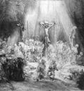 Rijn van Rembrandt The three crosses Sun