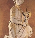 Robbia Angel with Candlestick