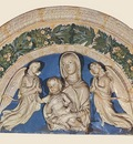 Robbia Madonna with Child and Angels
