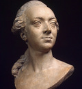 Roland Philippe Lorent Portrait Bust of the Architect Pierre Rousseau