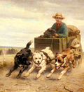 Ronner Knip Henriette The Dog Cart