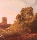 Rooker Michael Angelo View Of Castle Hill Oxford