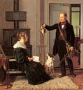 Rorbye Martinus Royal Hunt Master Von Zeuthen And His Wife