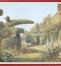 RoweErnestArthur TheCottageGardenAtHaddonHall We f101
