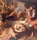 christ in the house of simon, rubens 1600x1200 id