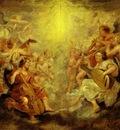 Peter Paul Rubens Music Making Angels