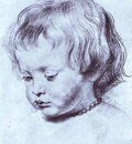 Peter Paul Rubens Portrait of a Boy Nicholas Rubens
