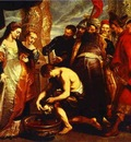 Peter Paul Rubens Queen Tomyris before the Head of Cyrus