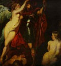 Peter Paul Rubens The Champion of Virtue Mars , Crowned by the Goddess of Victory