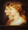 Peter Paul Rubens Tiberius and Agrippina