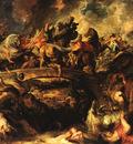 Rubens Battle of the Amazons 1618 Alte Pinakothek Munchen