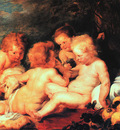 Rubens Christ and Saint John with Angels, Wilton House at Wi