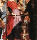 Rubens Descent from the Cross detail left wing