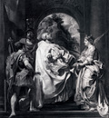 Rubens Modello For St gregory With Saints Domitilla Maurus And Papianus
