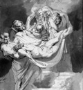 Rubens Peter Paul Entombment Sun