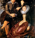 Rubens Peter Paul Isabella Brandt and the painter Sun