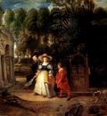 Rubens Rubens In His Garden With Helena Fourment