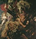 Rubens Saint George ans the dragon, 1606 1610, Prado