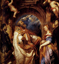 Rubens Saint Gregory With Saints Domitilla Maurus And Papianus