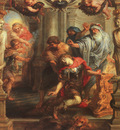 Rubens The Death of Achilles, oil on panel, Courtauld Instit