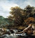 Ruisdael Jacob Waterfall Sun