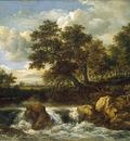 Ruisdael van Jacob Waterfall Sun