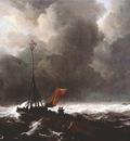 ruisdael storm at sea