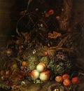 Ruysch Rachel Still life with fruit Sun